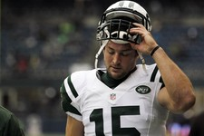 -                FILE - This Nov. 11, 2012 file photo shows New York Jets' Tim Tebow on the field before an NFL football game against the Seattle Seahawksin Seattle. Rex Ryan acknowledged Wednesday, Dec