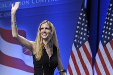 -                FILE - In this Feb. 12, 2011 file photo, Ann Coulter waves to the audience after speaking at the Conservative Political Action Conference (CPAC) in Washington. The Fox Nation web site h