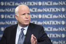 "-                FILE - In this Sunday, April 7, 2013 file photo provided by CBS News, Sen. John McCain, R-Ariz., appears on CBS' ""Face the Nation"" in Washington. Bipartisanship broke out on Capitol Hil"
