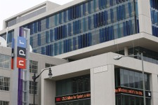 -                The new headquarters for National Public Radio (NPR) on North Capitol Street in Washington, Monday, April 15, 2013. NPR moved to a new headquarters facility with all digital equipment i