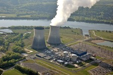 -                FILE - This April 2007 photograph, released by the Tennessee Valley Authority, shows the cooling tower of the single operating reactor at the Watts Bar Nuclear Plant in Spring City, Ten