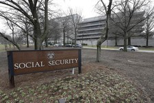 -                The Social Security Administration's main campus is seen in Woodlawn, Md., Friday, Jan. 11, 2013. The federal agency issued an official reprimand to an employee after months of flatulen