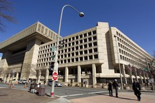 -                FILE - This Feb. 3, 2012, file photo shows the Federal Bureau of Investigation (FBI) headquarters on Pennsylvania Avenue in Washington, which opened in 1974. The FBI's announcement that