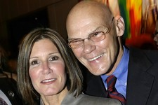 -                FILE - This April 18, 2007 file photo shows married political strategists James Carville, right, and Mary Matalin at a party held by CNN celebrating Larry King's fifty years of broadcas