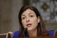 -                FILE - Senate Armed Services Committee member Sen. Kelly Ayotte, R-N.H., questions former Nebraska Republican Sen. Chuck Hagel, President Obama's choice to lead the Pentagon, during his