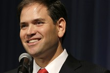 -                FILE - This Nov. 17, 2012, file photo shows Sen. Marco Rubio, R-Fla. speaks in Altoona, Iowa. Rubio and former Florida Gov. Jeb Bush are among a group of potential 2016 presidential can