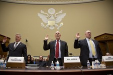 -                The House Oversight and Government Reform Committee, led by Chairman Darrell Issa, R-Calif., holds a hearing about last year's deadly assault on the U.S. diplomatic mission in Benghazi,