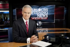"-                In this photo released by CBS, ""CBS Evening News"" anchor Scott Pelley, is shown. Pelley says a recent rash of mistakes shows journalism's house is on fire. The ""CBS Evening News"" anchor"