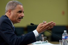 -                FILE - In this April 18, 2013 file photo, Attorney General Eric Holder testifies on Capitol Hill in Washington. The Justice Department has secretly obtained two months of telephone reco