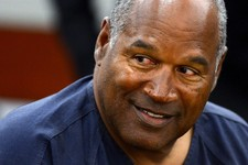 -                O. J. Simpson appears for the second day of an evidentiary hearing in Clark County District Court, Tuesday, May 14, 2013 in Las Vegas.  The hearing is aimed at proving Simpson's trial l
