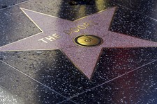 -                The Doors' Hollywood Walk of Fame star is seen in Los Angeles Monday, May 20, 2013. Ray Manzarek, the keyboardist and founding member of The Doors who had a dramatic impact on rock 'n'