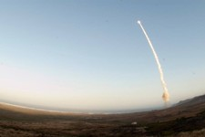 -                An image provided by Vandenberg Air Force Base shows an unarmed Minuteman III intercontinental ballistic missile being launched during an operational test Wednesday May 22, 2013, from L