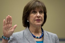 -                IRS official Lois Lerner is sworn in on Capitol Hill in Washington, Wednesday, May 22, 2013, before the House Oversight Committee hearing to investigate the extra scrutiny IRS gave to T
