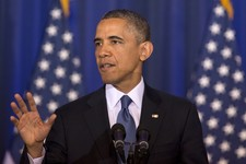 Video: During Counterterrorism Speech, Woman Heckles Obama For Agreeing With Her