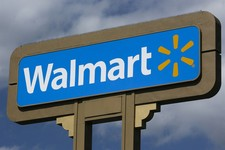 -                An outdoors sign for Walmart is seen in Duarte, Calif. Tuesday, May 28, 2013. Wal-Mart Stores Inc. pleaded guilty on Tuesday to charges the company dumped hazardous waste in Calif. Wal-
