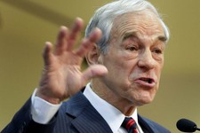 -                FILE - This Feb. 1, 2012 file photo shows then-Republican presidential candidate, Rep. Ron Paul, R-Texas speaking in Las Vegas. Ron Paul is exiting the political stage but his legions o