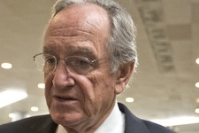 -                FILE - In this March 22, 2013 file photo, Sen. Tom Harkin, D-Iowa speaks to reporters on Capitol Hill in Washington. Senate Democrats are introducing legislation that would replace the