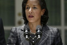 -                United Nations Ambassador Susan Rice, President Barack Obama's choice to become National Security Adviser, speaks in the Rose Garden of the White House in Washington, Wednesday, June 5,