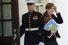 -                FILE - In this Oct. 12, 2010 file photo, Samantha Power,  former Senior Director for Multilateral Affairs and Human Rights at the National Security Council and foreign policy adviser to