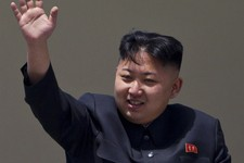 -                FILE - In this Sunday, April 15, 2012 file photo, North Korean leader Kim Jong Un waves from a balcony at the end of a mass military parade in Pyongyang's Kim Il Sung Square. China has