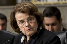 -                FILE - In this June 12, 2013 file photo, Senate Appropriations Committee member, Sen. Dianne Feinstein, D-Calif., the chair of the Senate Intelligence Committee listen to testimony on C