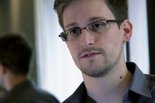 -                FILE - This June 9, 2013 photo provided by The Guardian newspaper in London shows Edward Snowden, who worked as a contract employee at the U.S. National Security Agency, in Hong Kong. T