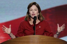 -                FILE - In this Sept. 6, 2012, file photo Sen. Kay Hagan of North Carolina speaks at the Democratic National Convention in Charlotte, N.C. In 2008. Hagan won a seat Republicans had held