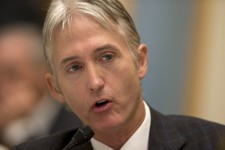 -                House Judiciary Committee member Rep. Trey Gowdy, R-S.C., sponsor of the Strengthen and Fortify Enforcement Act, speaks on Capitol Hill in Washington, Tuesday, June 18, 2013, during com