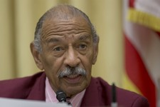 -                The House Judiciary Committee ranking Democrat, Rep. John Conyers, D-Mich. speaks on Capitol Hill in Washington, Tuesday, June 18, 2013, during the committee's hearing to discuss the St