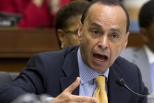 -                House Judiciary Committee member Rep. Luis Gutierrez, D-Ill. speak on Capitol Hill in Washington, Tuesday, June 18, 2013, during the committee's hearing to discuss the Strengthen and Fo