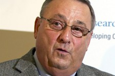 -                FILE - In this April 19, 2013 file photo, Gov. Paul LePage speaks at a news conference at the State House in Augusta, Maine. LePage used a sexually vulgar phrase Thursday, June 20, 2013