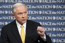 -                In this Sunday, June 23, 2013, photo provided by CBS News Senate Judiciary Committee member, Sen. Jeff Sessions, R-Ala., an outspoken critic of the currently proposed immigration reform