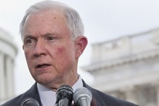-                FILE - In this June 20, 2013 file photo, Sen. Jeff Sessions, R-Ala. speaks on Capitol Hill in Washington. Republicans are deeply split over the immigration bill now steaming toward Sena