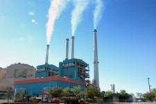 -                Smoke rises from the Colstrip Steam Electric Station in Colstrip, Mont., Monday, July 1, 2013.  President Barack Obama's climate change plan calls for limits on carbon dioxide emissions