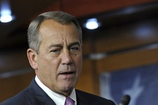 -                FILE - In this June 27, 2013 file photo, House Speaker John Boehner of Ohio arrives for a news conference on Capitol Hill in Washington. When Boehner urged lawmakers to support the farm
