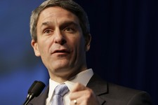-                FILE - In this May 18, 2013 file photo, Virginia Republican Gubernatorial candidate, Virginia Attorney General Ken Cuccinelli speaks in Richmond, Va. When the U.S. Supreme Court gutted