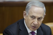 -                Israeli Prime Minister Benjamin Netanyahu attends the weekly cabinet meeting in Jerusalem on Sunday, July 7, 2013. (AP Photo/Oded Balilty)