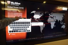-                In July 3, 2013 photo, a global map tracks computer virus activity at the McAfee headquarters in Santa Clara, Calif. The hackers who knocked out tens of thousands of South Korean comput
