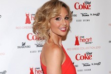 "-                FILE - This Feb. 11, 2010 file photo shows TV personality Elisabeth Hasselbeck at The Heart Truth's Red Dress Collection 2010 fashion show in New York. Hasselbeck is leaving ""The View"""