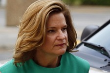 -                FILE - IN this May 9, 2012 file photo, JenniferPalmieri, now White House Communication director, is seen in Greensboro, N.C. Republicans have seized on the White House delay of a healt