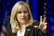 -                FILE - In this Feb. 18, 2010, file photo, Liz Cheney addresses the Conservative Political Action Conference in Washington. Cheney announced Tuesday, July 16, 2013, she will run against