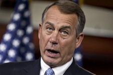 -                Speaker of the House John Boehner, R-Ohio, meets with reporters, taking questions on immigration, student loans, and GOP-led efforts to stop President Barack Obama's signature health ca