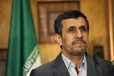 -                Iran's President Mahmoud Ahmadinejad listens to a question during a joint news conference with Iraqi Vice President Khudier al-Khuzaie, not shown, in Baghdad, Iraq, Thursday, July 18, 2