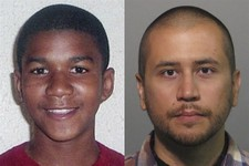 -                FILE -This combo image made from file photos shows Trayvon Martin, left, and George Zimmerman. When President Barack Obama told the nation on Friday, July 19, 2013, that slain black tee