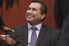 -                FILE - In this file image from video, George Zimmerman smiles after a not guilty verdict was handed down in his trial at the Seminole County Courthouse, Sunday, July 14, 2013, in Sanfor