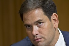-                FILE - In this July 11, 2013 file photo, Sen. Marco Rubio, R-Fla. is seen on Capitol Hill in Washington. Rubio is renewing his outreach to tea party supporters and his advocacy for Repu