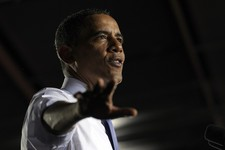 -                President Barack Obama speaks at the Jacksonville Port in Jacksonville, Fla., Thursday, July 25, 2013. A day after he kicked off the tour in Illinois and Missouri, Obama was traveling T
