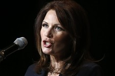 -                In this photo taken July 23, 2013, Rep. Michele Bachmann, R-Minn. speaks in Washington.  The House Ethics Committee is launching a full-tilt investigation of Bachmann. The committee ann
