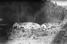 -                This image provided by the University of Idaho shows the Kooskia Internment Camp during World War II. This little-known internment camp where more than 250 people of Japanese ancestry w
