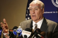 -                FILE - In this June 17, 2013 file photo, former White House chief of staff Bill Daley speaks at a news conference in Chicago. Daley is making his Illinois gubernatorial bid official and
